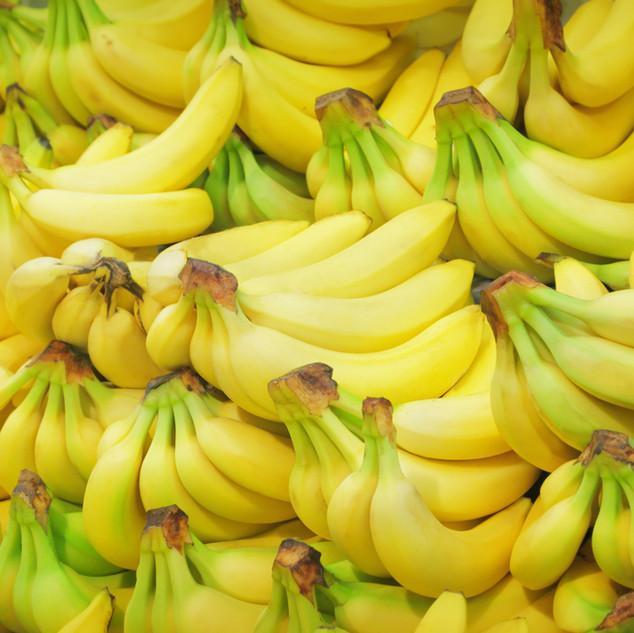 Les régimes de bananes