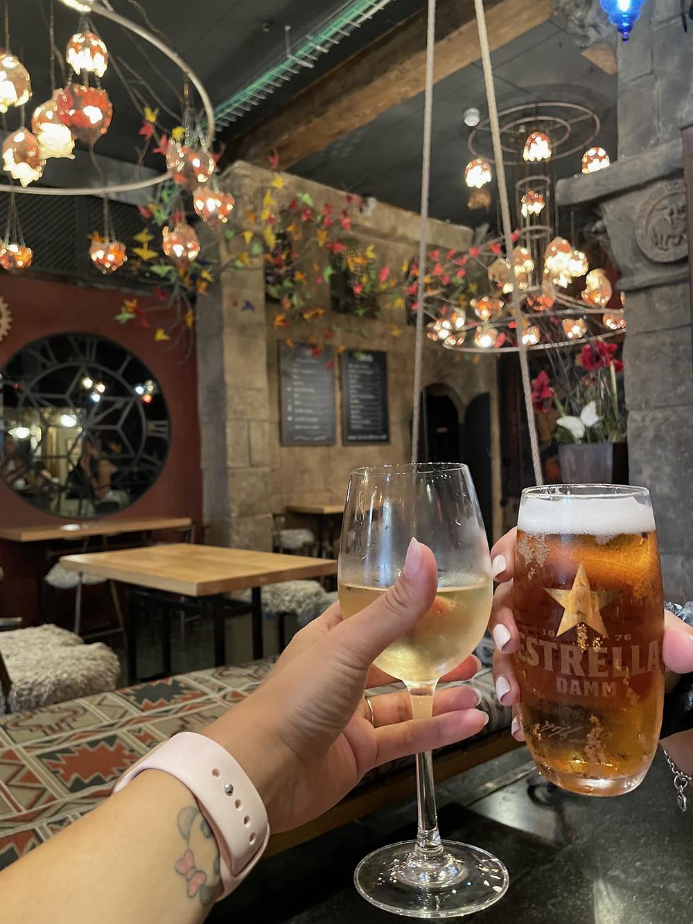 bar museo delle cere Barcellona
