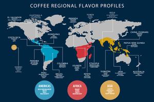 Регионы происхождения кофе