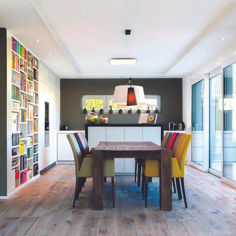 Photo cuisine colorée