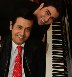 Ruhan with his son Sidhant