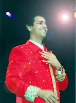 Ruhan performing in Trinidad