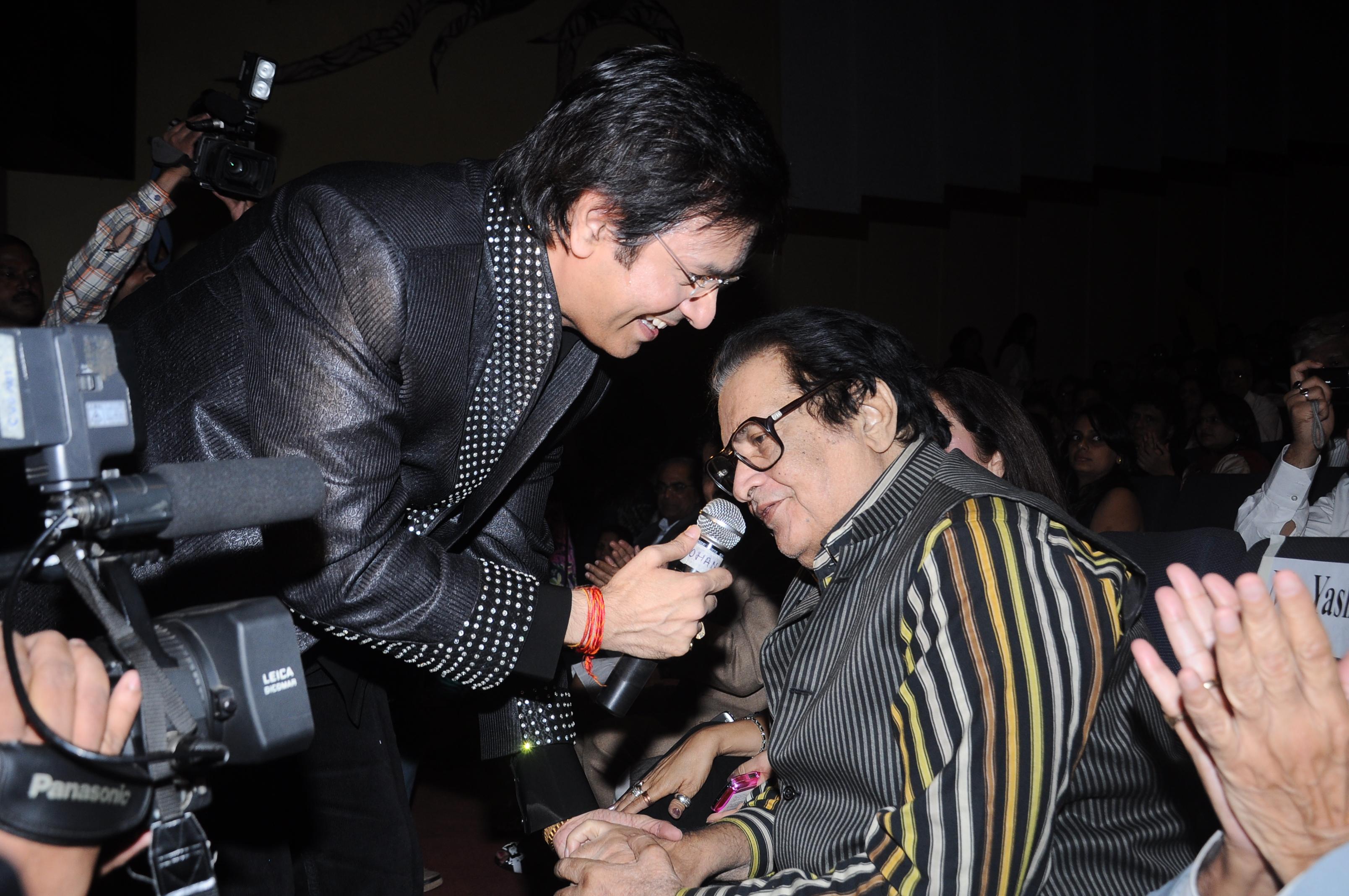 With Manoj Kumar ji
