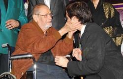 With Shammi Kapoor ji
