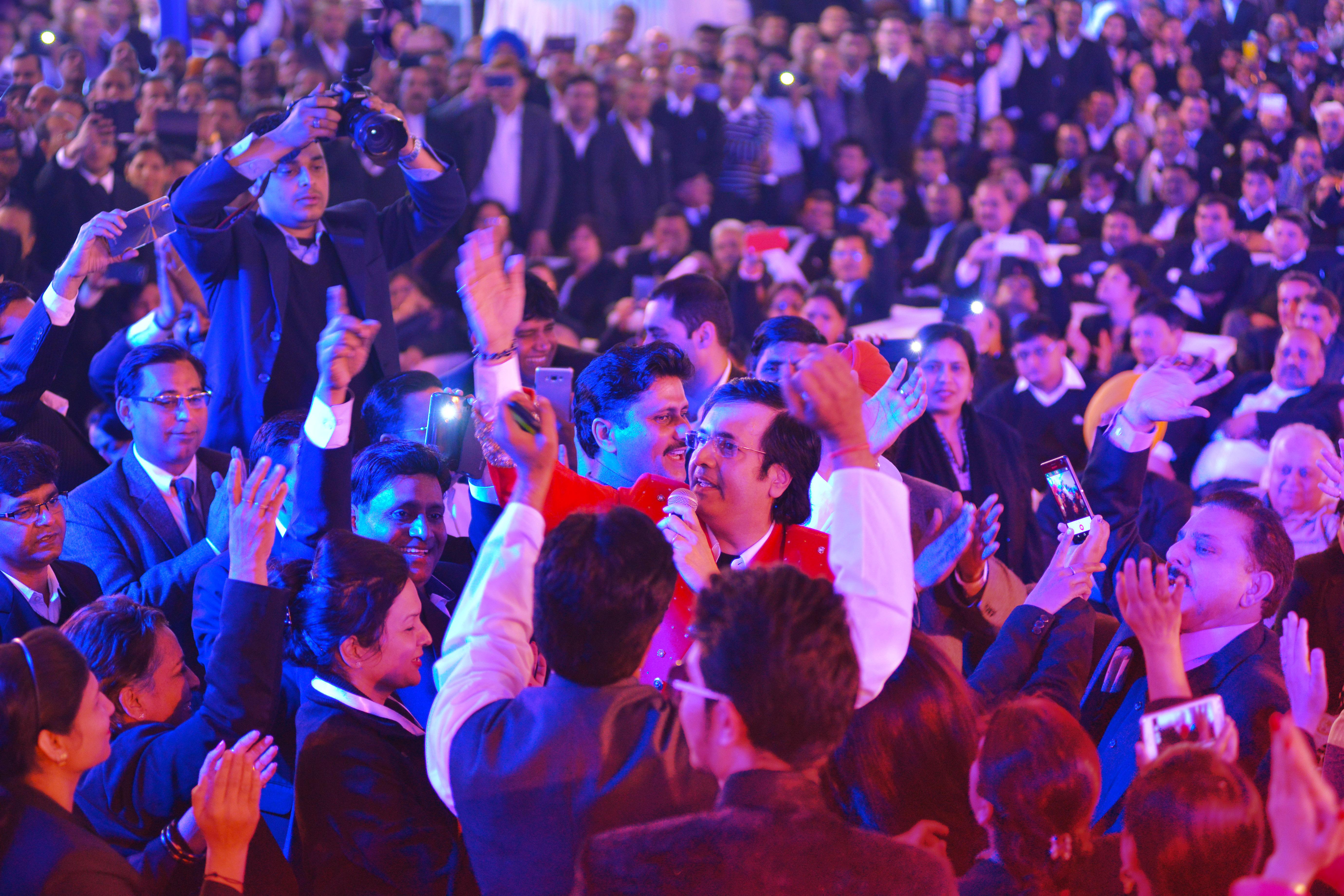 Ruhan performing in Delhi