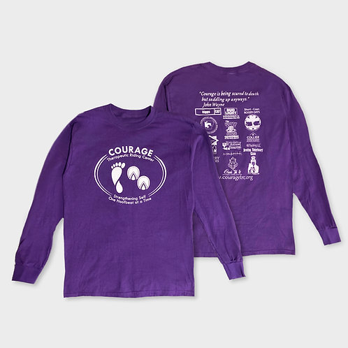 Courage Long-Sleeved T-Shirt