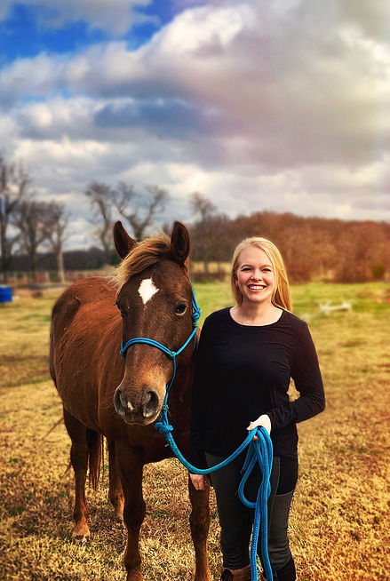 Jessie Kersh: Programs Director at Courage Therapeutic Riding Center