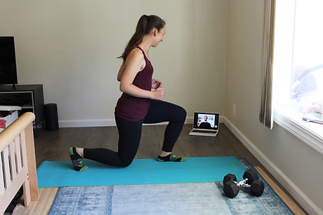 Remote Personal Training - Lunge.JPG