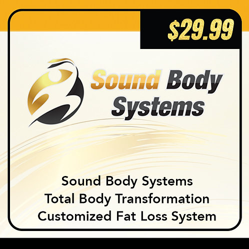 Total Body Transformation Customized Fat Loss System