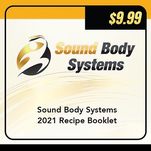Sound Body Systems 2021 Recipe Booklet