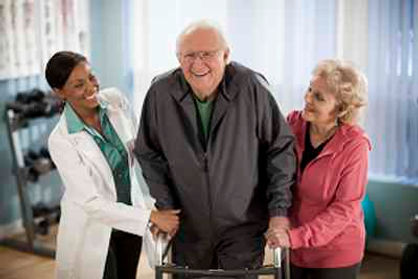Recovery and Rehabilitation services at home or elderly patient