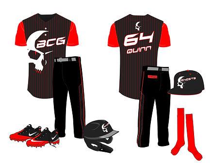 BCG-0221-0005 Ghosts Uniform Design AWAY