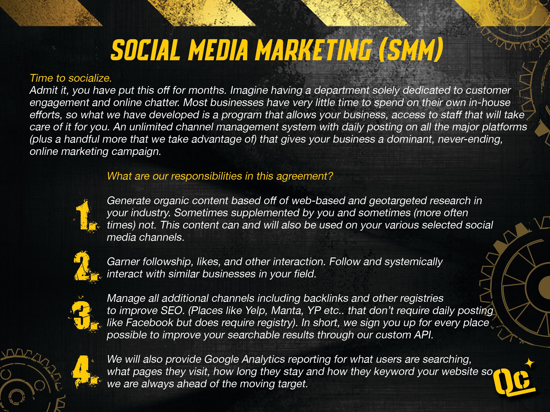 slide 8 - social media