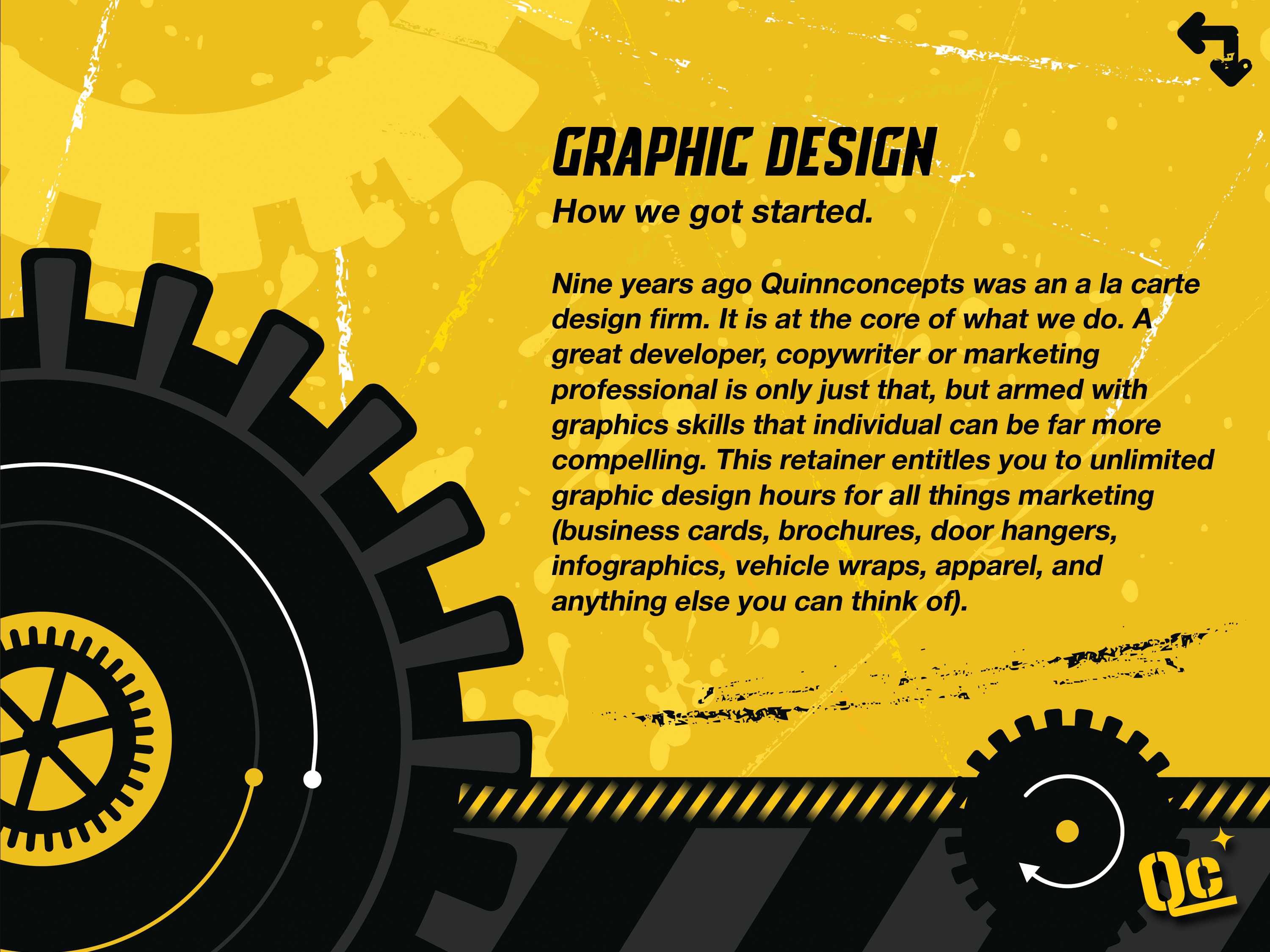 slide 7 - graphic design