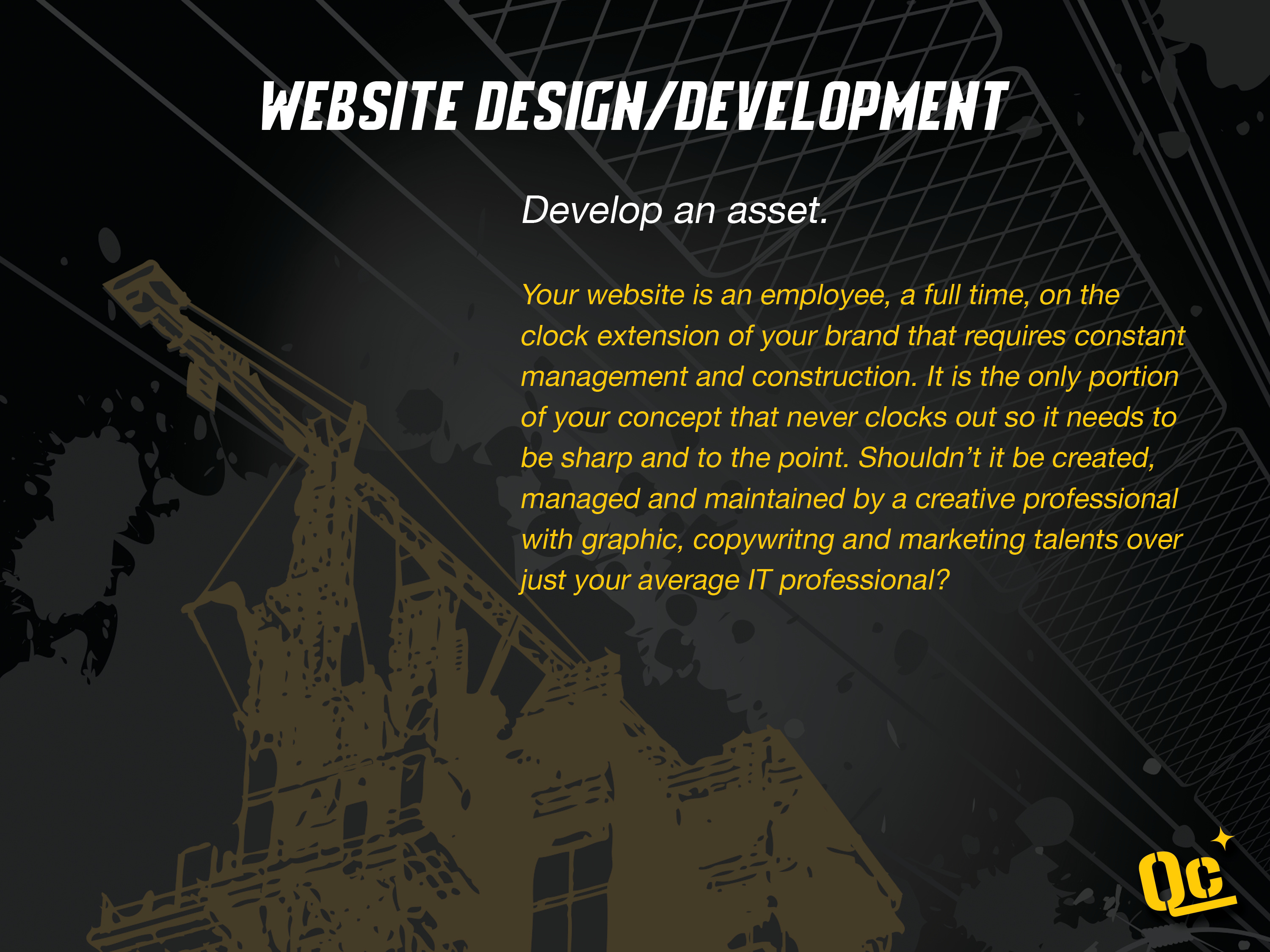 slide 9 - web design