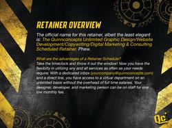 slide 2 - retainer overview