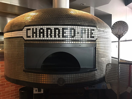 A picture of the Charred Pie oven