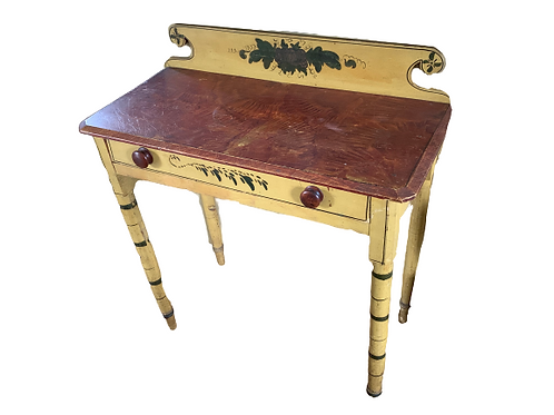 PAINT DECORATED  DRESSING TABLE