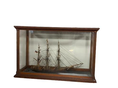 Model of sailing bustle