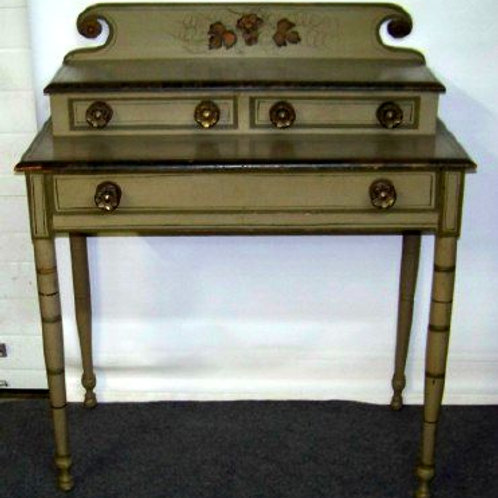 New England paint decorated dressing table