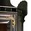 Thumbnail: Victorian black ebony hanging corner cupboard