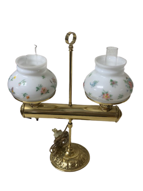 Miniature Double Student Lamp