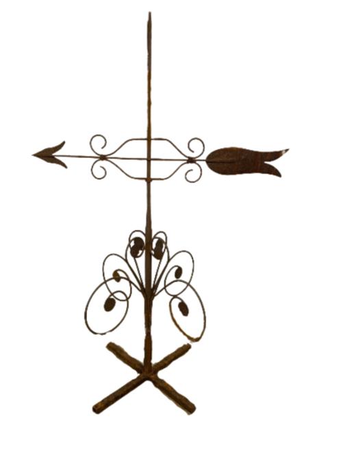 Iron Arrow banner wearthervane