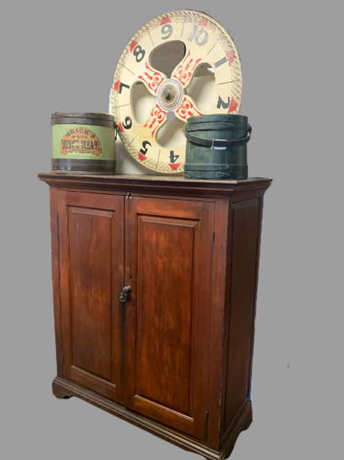 Country painted jelly cupboard