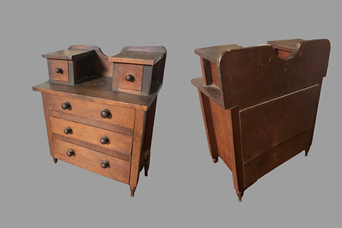 CHERRY MINIATURE FEDERAL CHEST