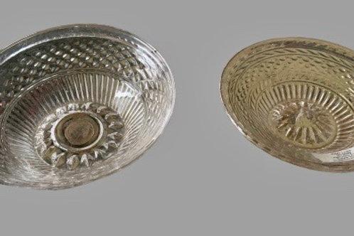 Pair of Sandwich glass naps 19th. century
