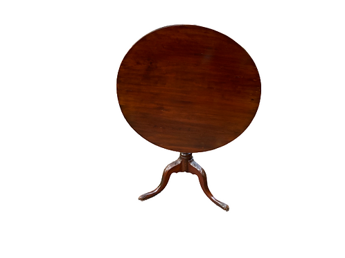 CHERRY QUEEN ANNE TILT TOP TEA TABLE