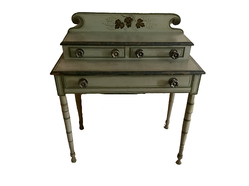 COUNTRY PAINT DECORATED DRESSING TABLE