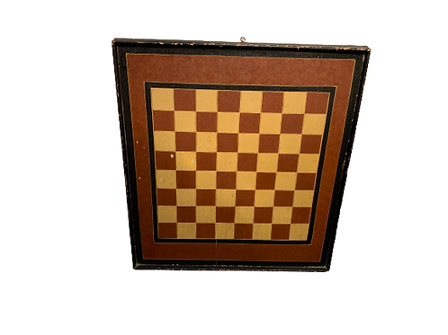 PAINTED DECORATED GAME BOARD