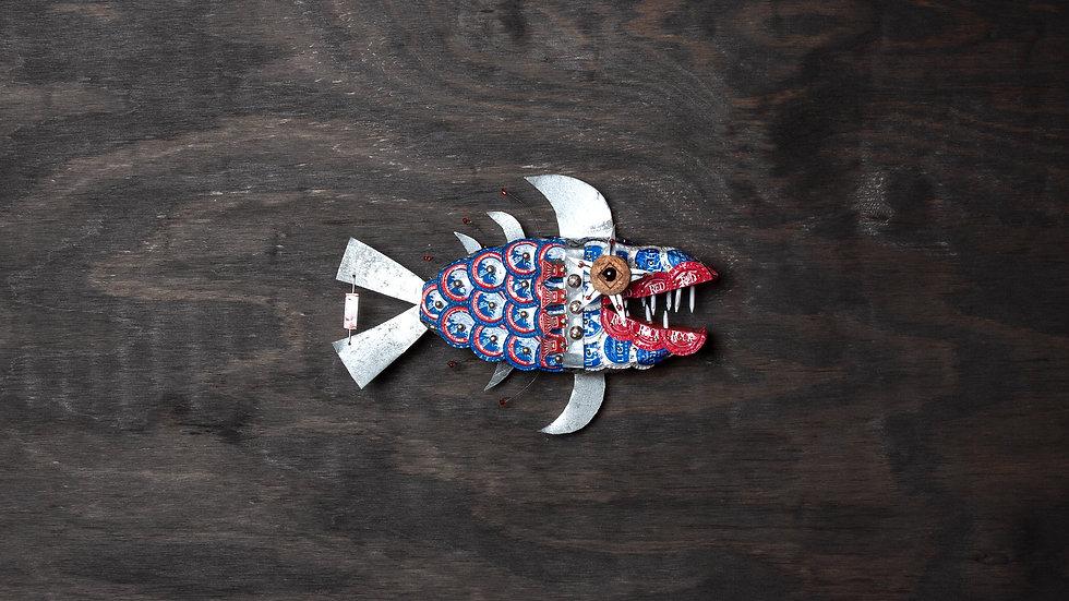 Minnie Me Bottle Cap Fish