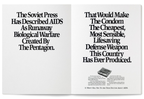 1987 Aids Awareness Print Ad Agency: Meldrum & Fewsmith, Cleveland  Writer: Jim Proimos