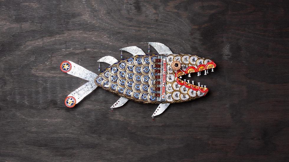 Charlie The Tuna Bottle Cap Fish