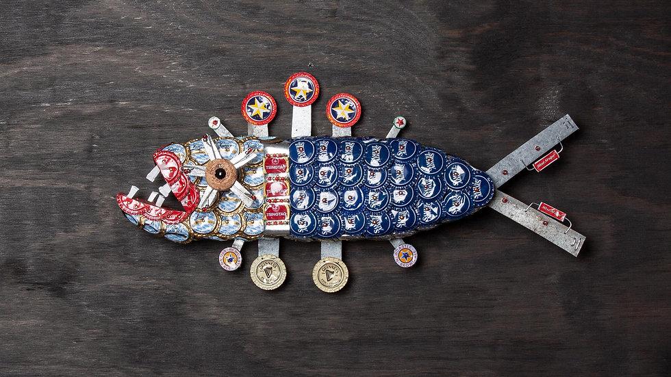Captain America Bottle cap Fish