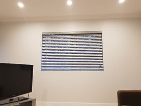 Crowsnest Venetian Blind - Grey PVC 50mm
