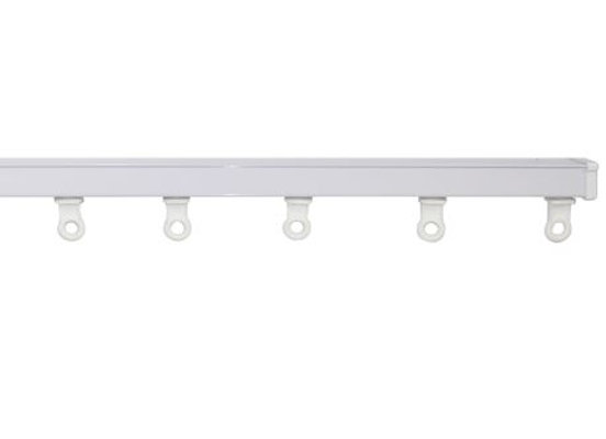 S FOLD - Custom Made Curtain Track - White
