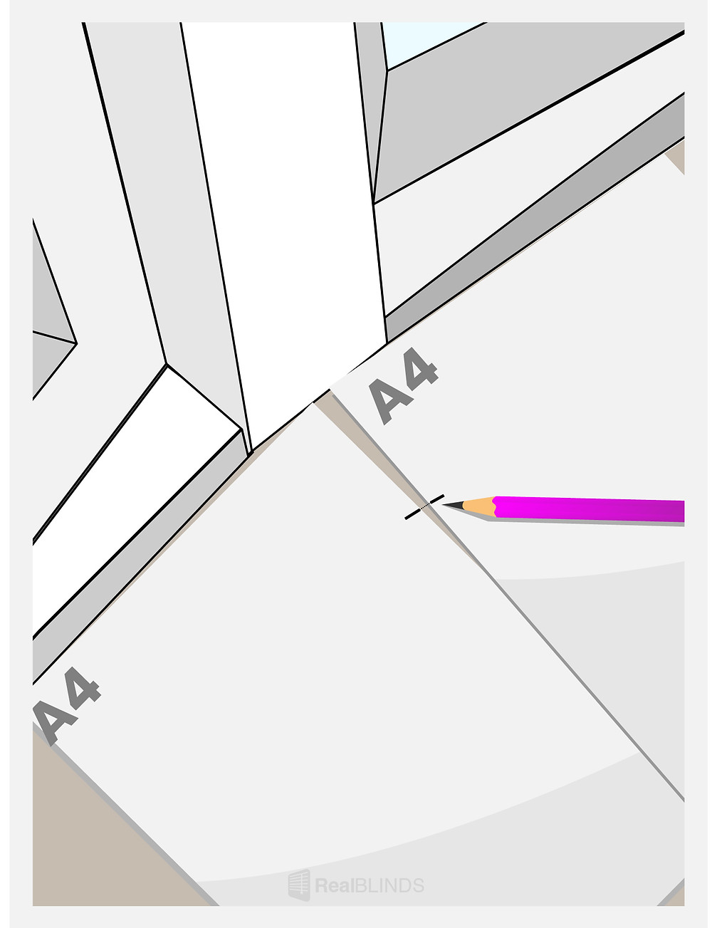 Measuring Blinds For Bay Windows - Dotting The Window   Real Blinds