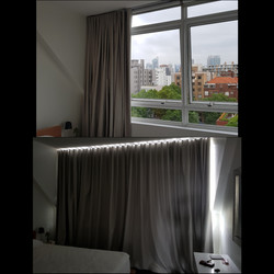 Large Curtain Expanse