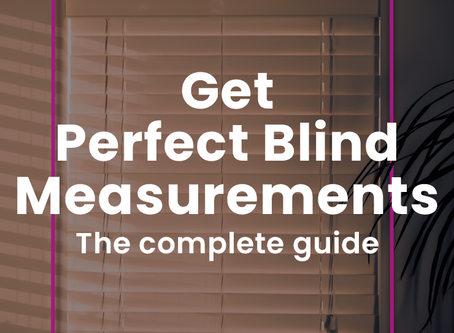 How To Measure For Window Blinds Perfectly - The Complete Guide