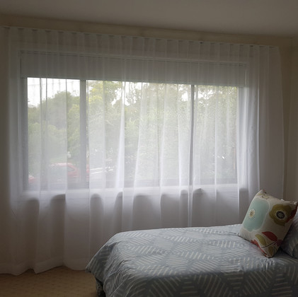 S Fold Sheer Curtain  | Real Blinds