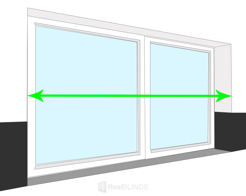 Measure Between Tiles For Roller Blinds - How To   Real Blinds