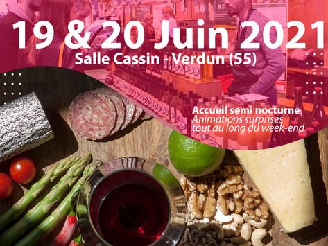 Le salon des Vins, de la Gastronomie et des Arts de la table reporté en Juin 2021 !