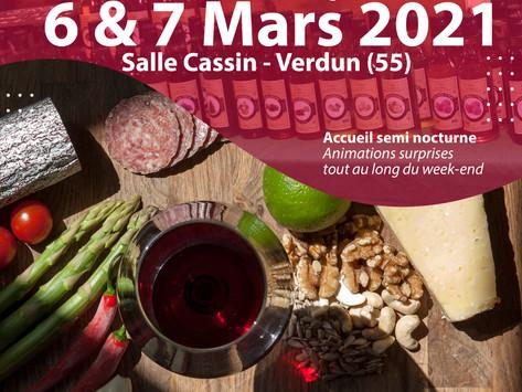 Le salon des Vins, de la Gastronomie et des Arts de la table – édition 2021 ça sera les 6 & 7 Mars !