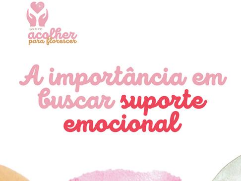 A importância em buscar suporte emocional