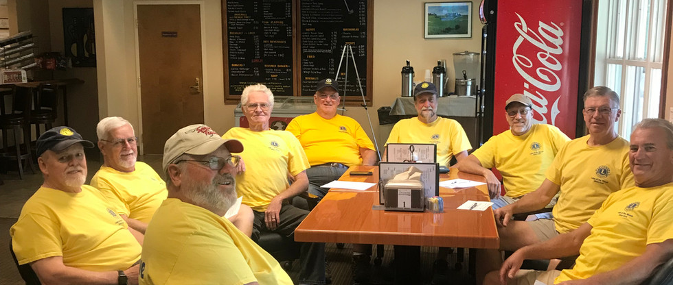 Furniture/donation pickup team on a given day