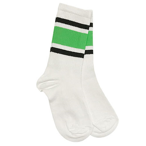 Squad Green-Black Sock