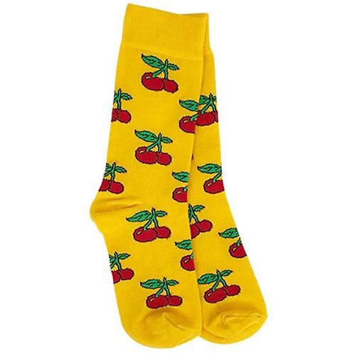 Cherry-Yellow Sock